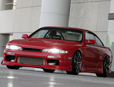Car Make T&E - Vertex Body Kit - Nissan Silvia S14 - Series 1