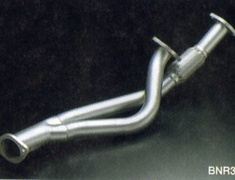 HKS - Polished Front Pipe - GTR and RX-7