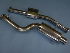 31019-AN013 Nissan - GTR - R35 - 12/2007 90mm pipe A Tail with Gold Ring or B Tail with Gold Ring