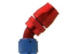 HKS - Reusable Aluminium Fitting - 45deg Elbow