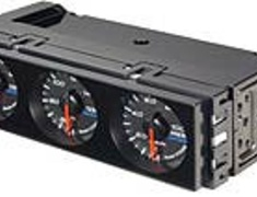Defi - DIN Gauge - Black