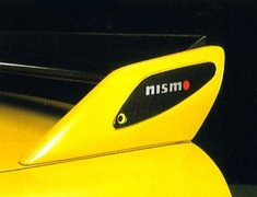 Nismo - Rear Spolier Ornament - Nismo