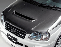 Monster - Air Outlet Carbon Hood - Ignis
