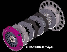 Exedy - Hyper Carbon - Carbon-R - Triple Plate Clutch