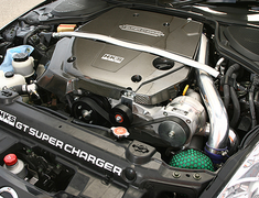 HKS - GT Supercharger - Engine Cover