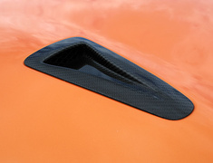 Zele Performance - Carbon Fiber NACA Bonnet Ducts