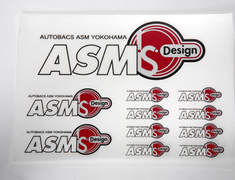 ASM - I.S. Design &amp; ASM Sticker Set