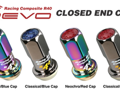 Kics - R40 REVO Closed End Cap