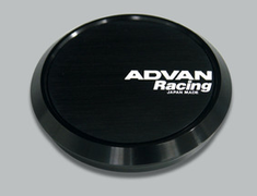 Yokohama Wheel Design - Advan Racing - Center Cap - Black
