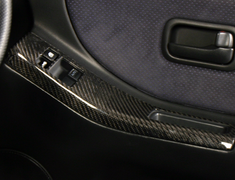 Superior Auto Creative - Carbon Door Switch Panel