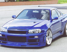 Cross Factory - R34 Wide Body Kit