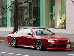Car Make T&E - Vertex Lang - Silvia S14 S2 Body Kit