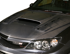 Varis - Extremor Body Kit - Subaru WRX GRB 09 Version - Aero Bonnet