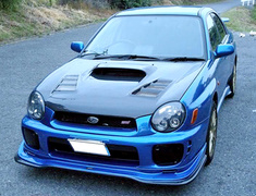 Varis - Extremor Front Lip WRX GDB