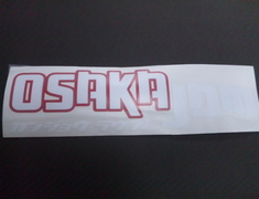 Osaka JDM - New Round Sticker