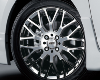 Mugen - Aluminum Wheel XJ - Black Metal Coat