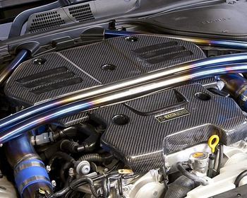 Top Secret - Z34 Carbon Engine Cover