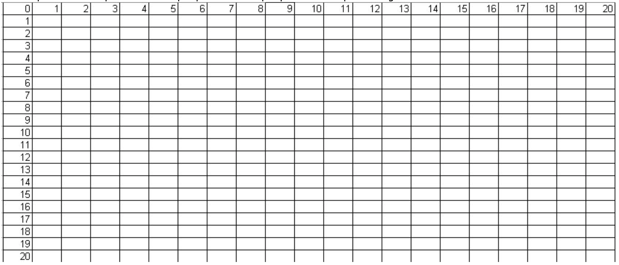 Map Tracer Grid