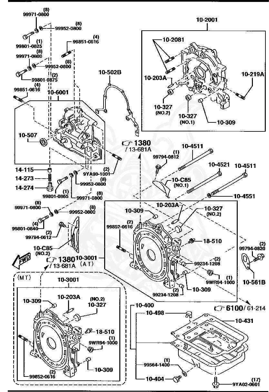 Mazda - Drain Plug