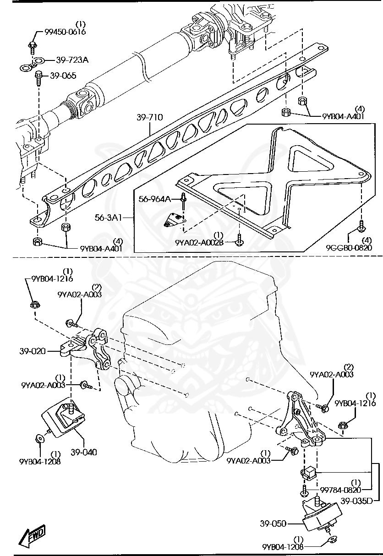 ,Engine MT. Rubber R