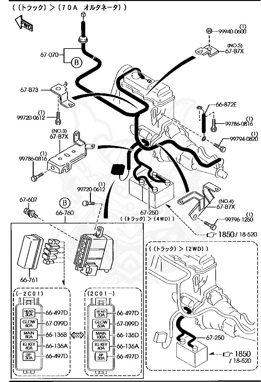 Kia K2700 Fuse Box Diagram