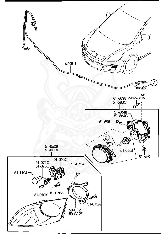 Mazda - Bulb