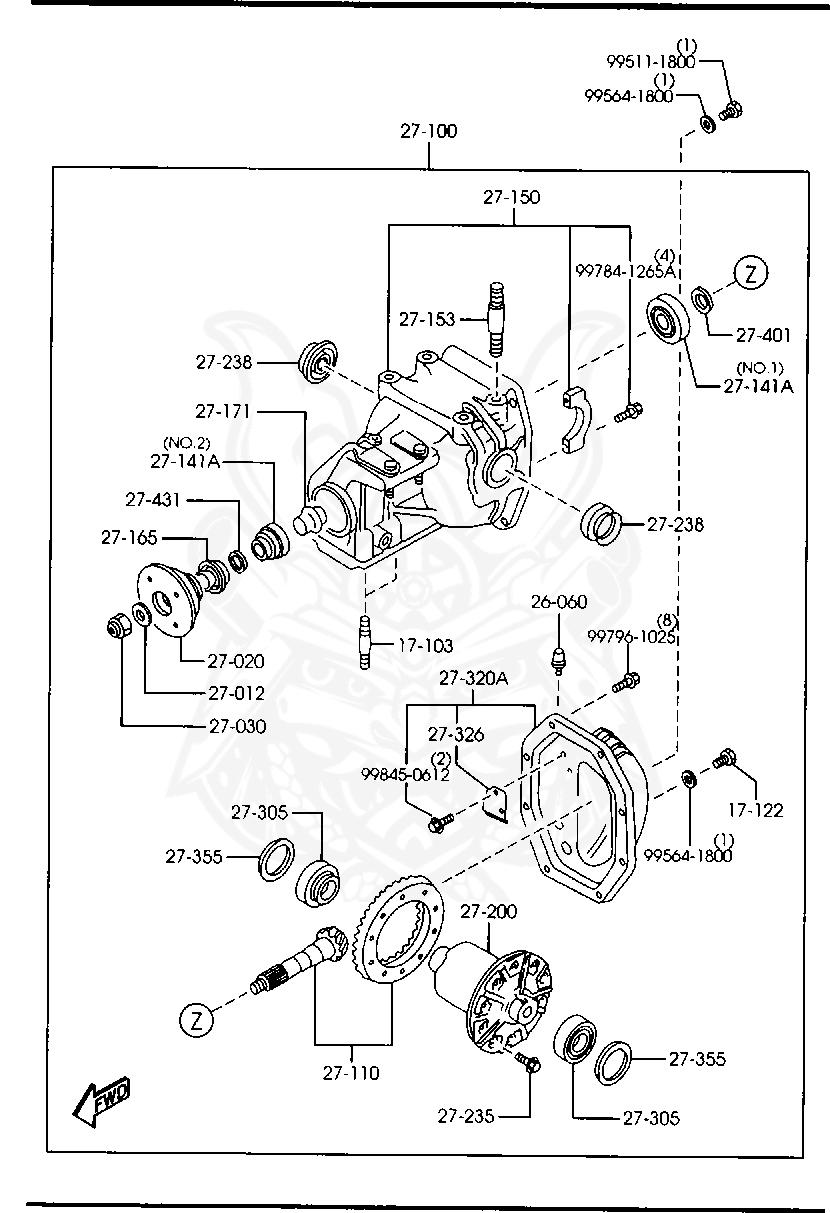 Mazda - Magnet Plug