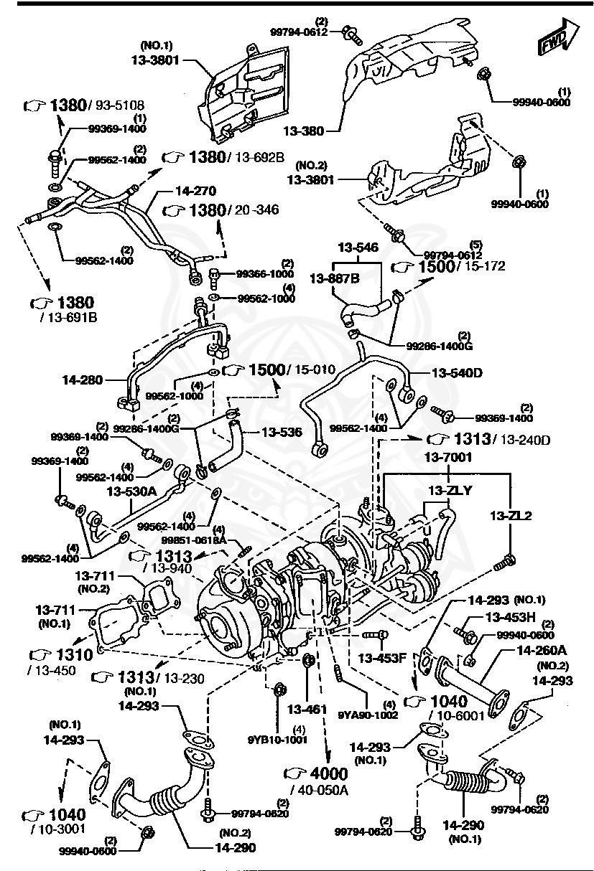 Mazda - Gasket