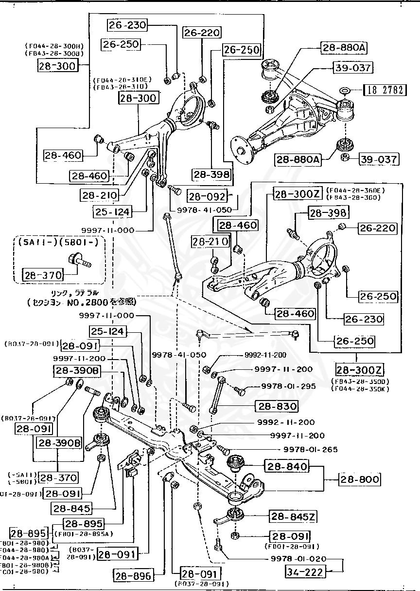 2301 honda h engine diagram 887134222 mazda tension rod nut nengun performance  887134222 mazda tension rod nut