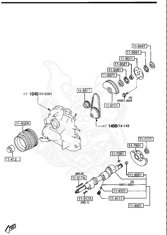 Mazda - Steel Ball