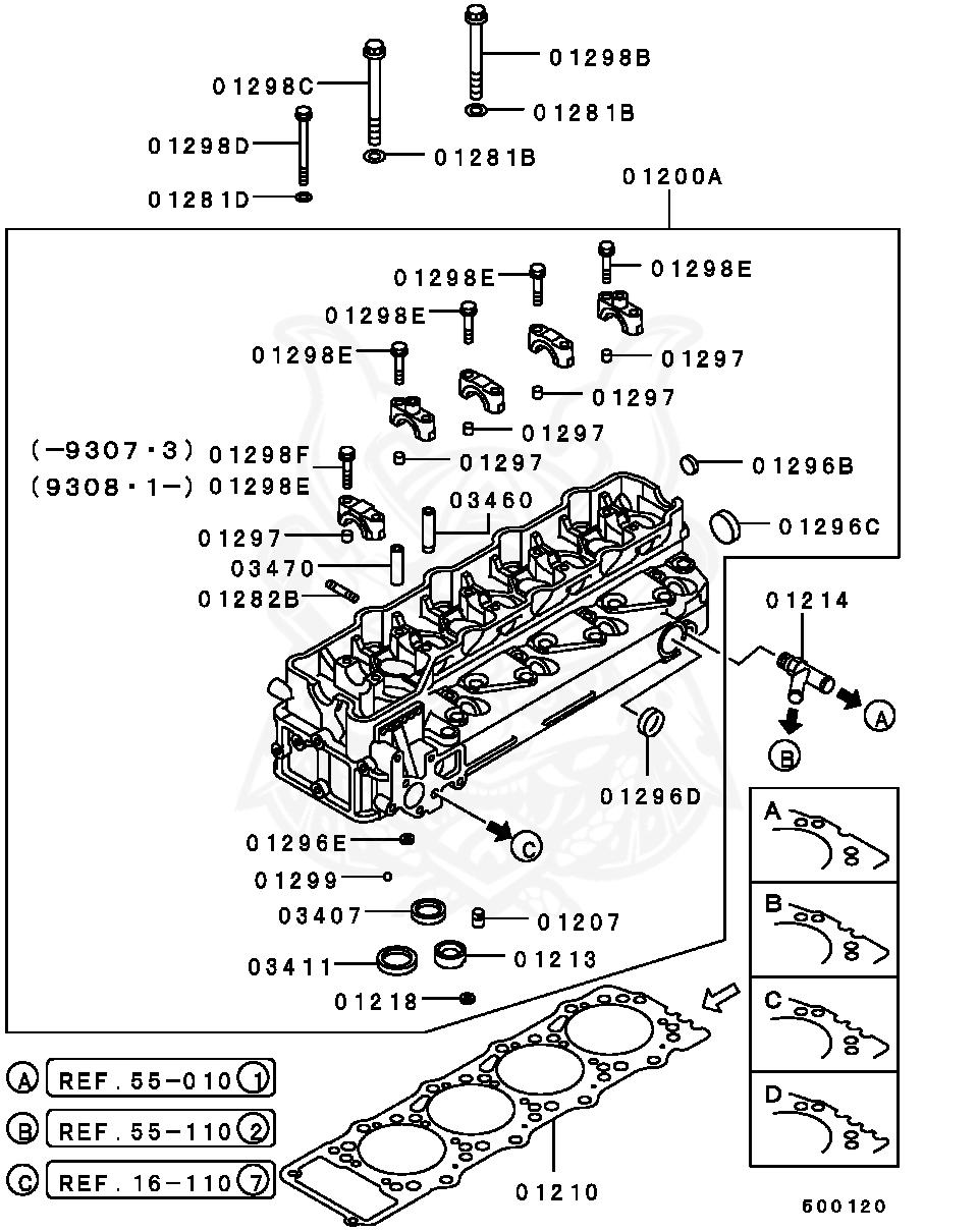 Mitsubishi - Washer, Cylinder Head