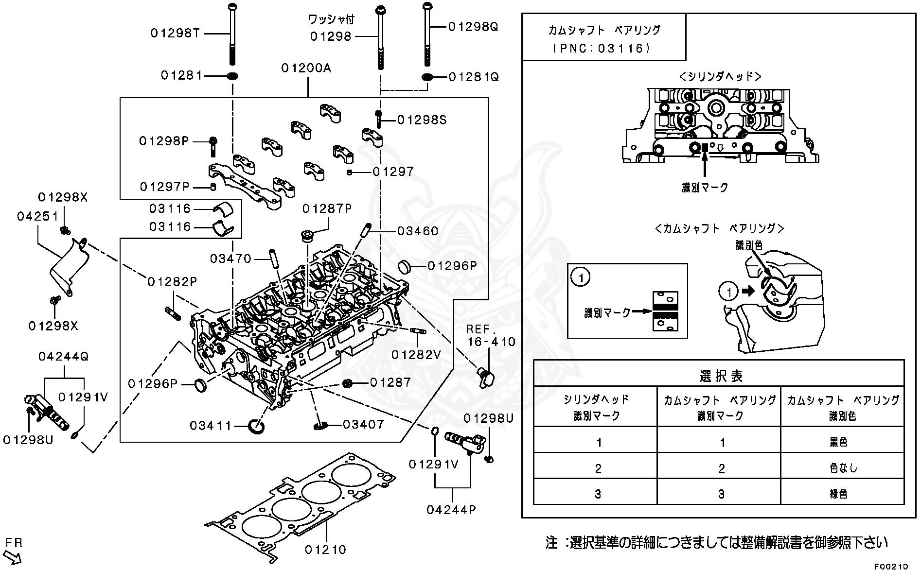 Mitsubishi - Bushing, Cylinder Head