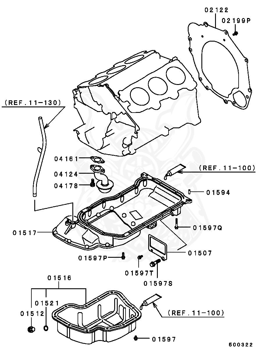 2002 Mitsubishi Galant Engine 2 4 Diagram