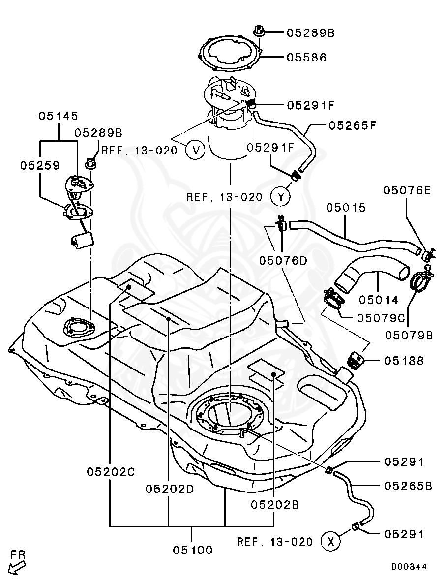 Nissan Skyline R33 BCNR33 GTR Fuel Tank Filler Neck Cap