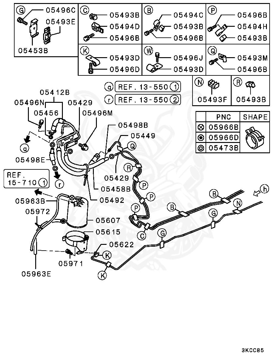 Mitsubishi - Clip, Diff Control