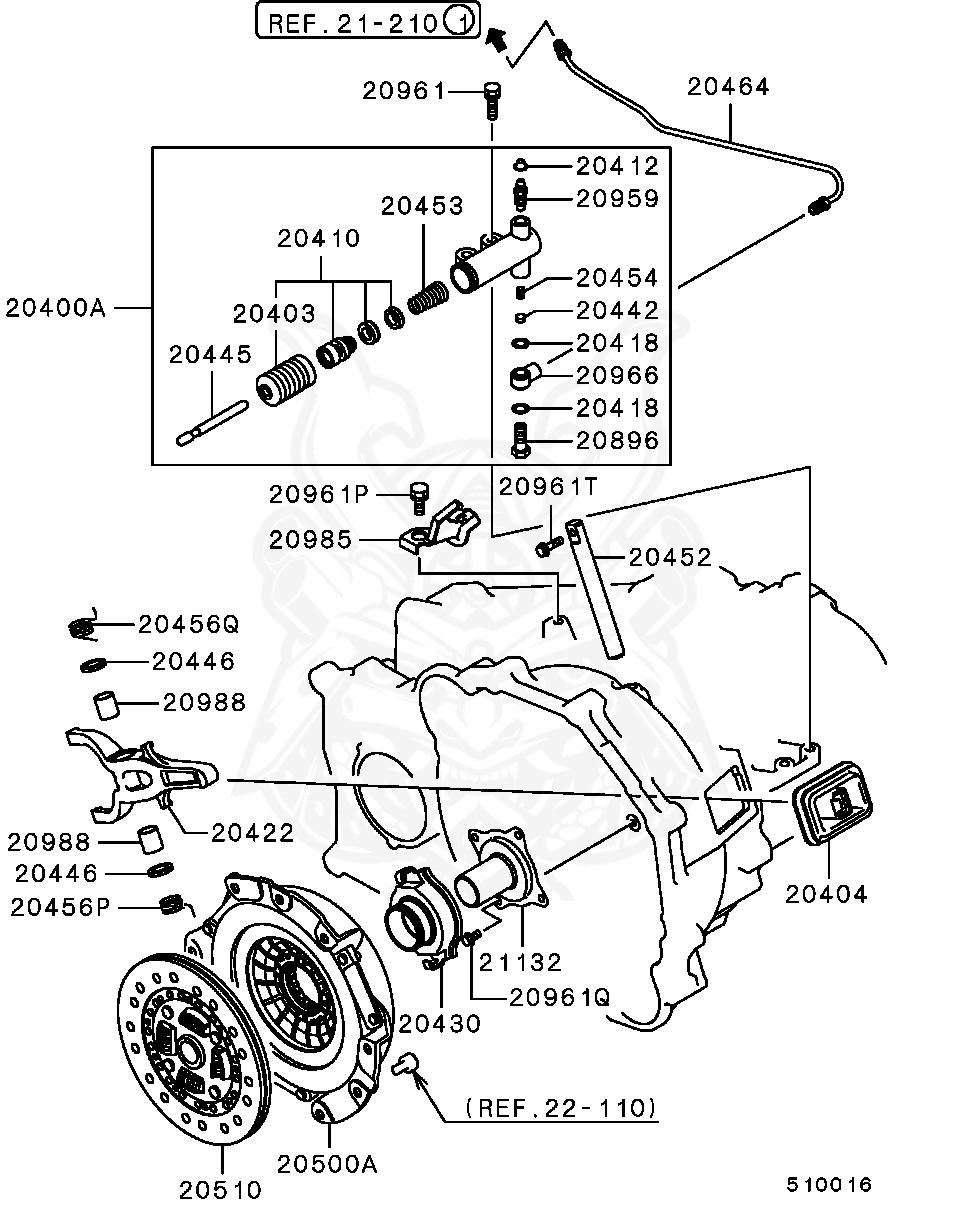 Mitsubishi - Bolt, M/T Clutch Control Equip