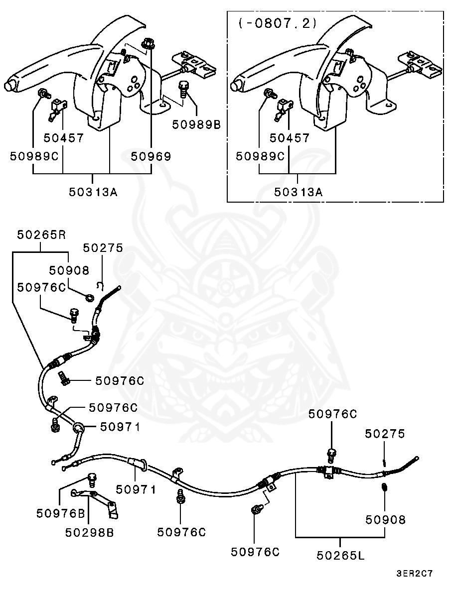 Mitsubishi - Bolt, Fuel Line