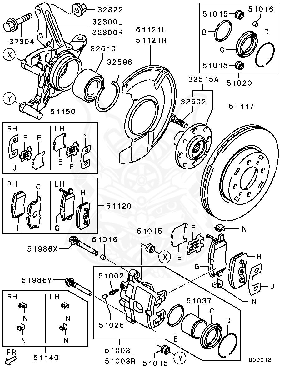 Mitsubishi - Bolt, Fr Susp Lwr Arm