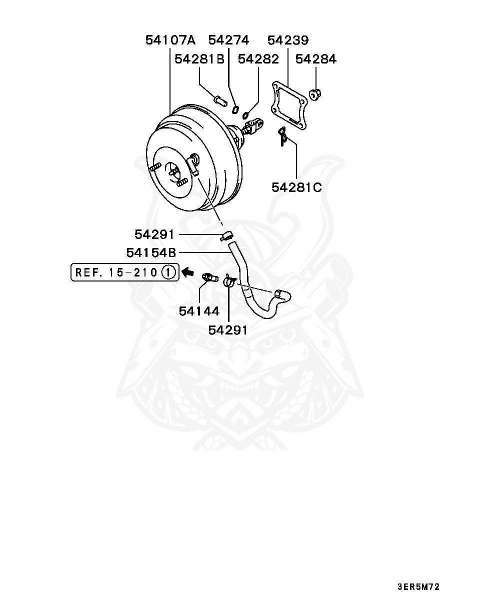 HONDA S2000 AP1 OEM BRAKE BOOSTER /& MASTER CYLINDER ASSY