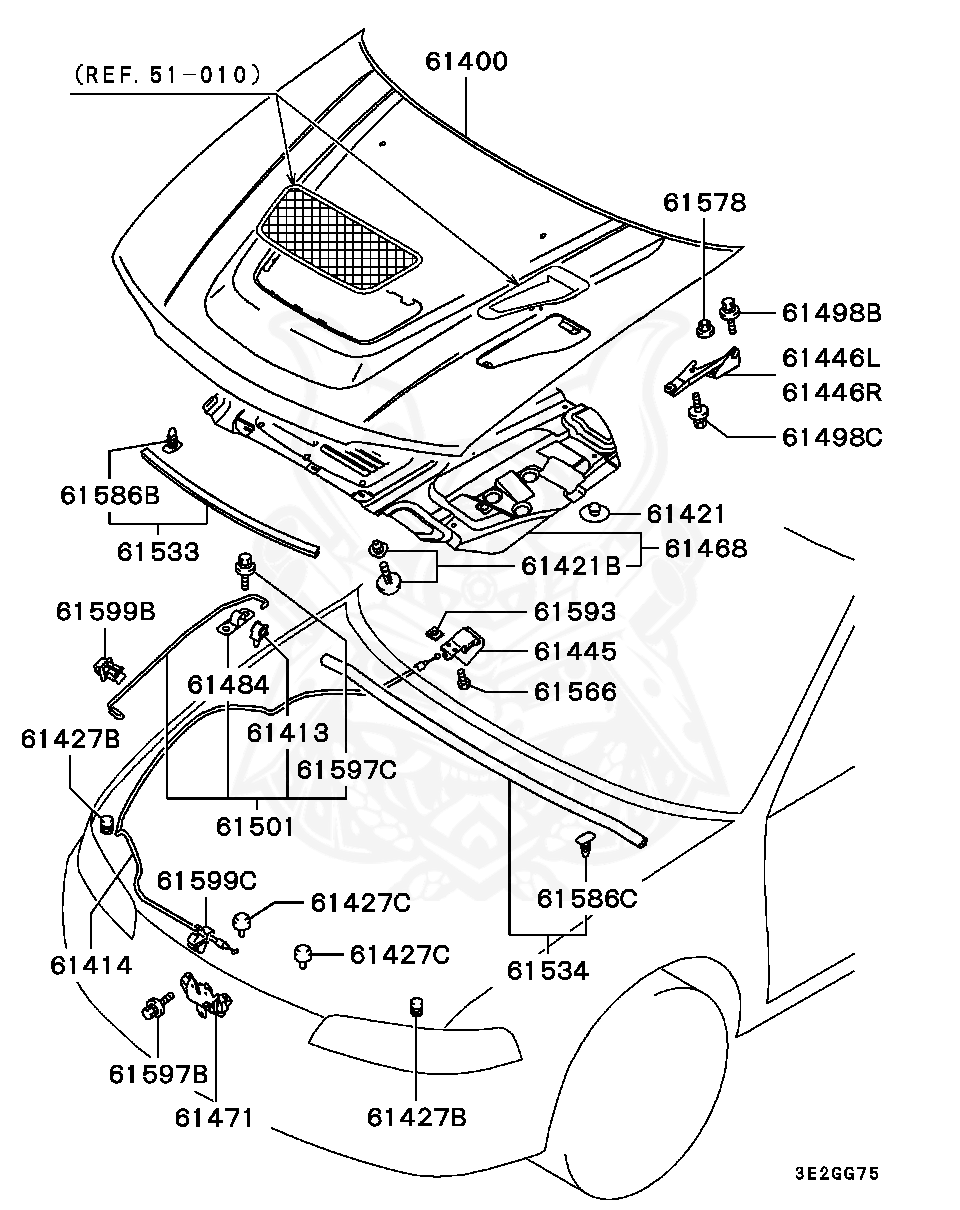 Mitsubishi - Bolt, Fr Susp Stabilizer