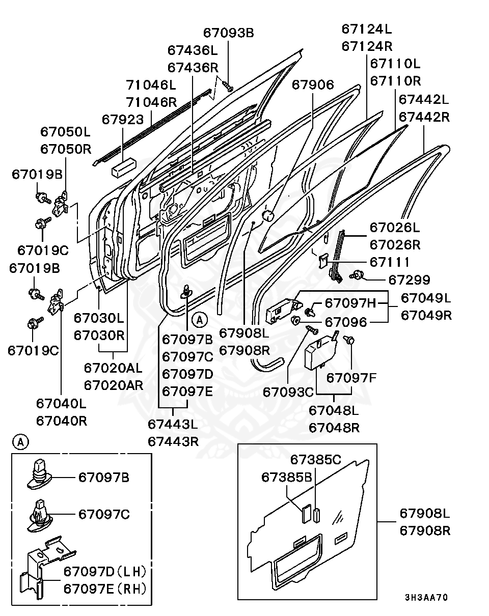 Mitsubishi - Damper, Trunk Lid
