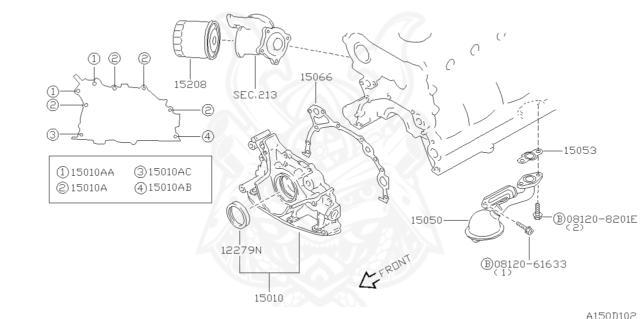 Nissan - Oil Filter - Assembly