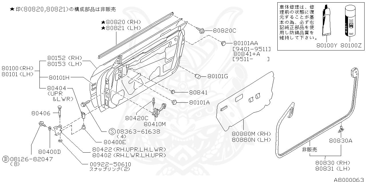 Nissan Caravan E25 Fuse Box Diagram