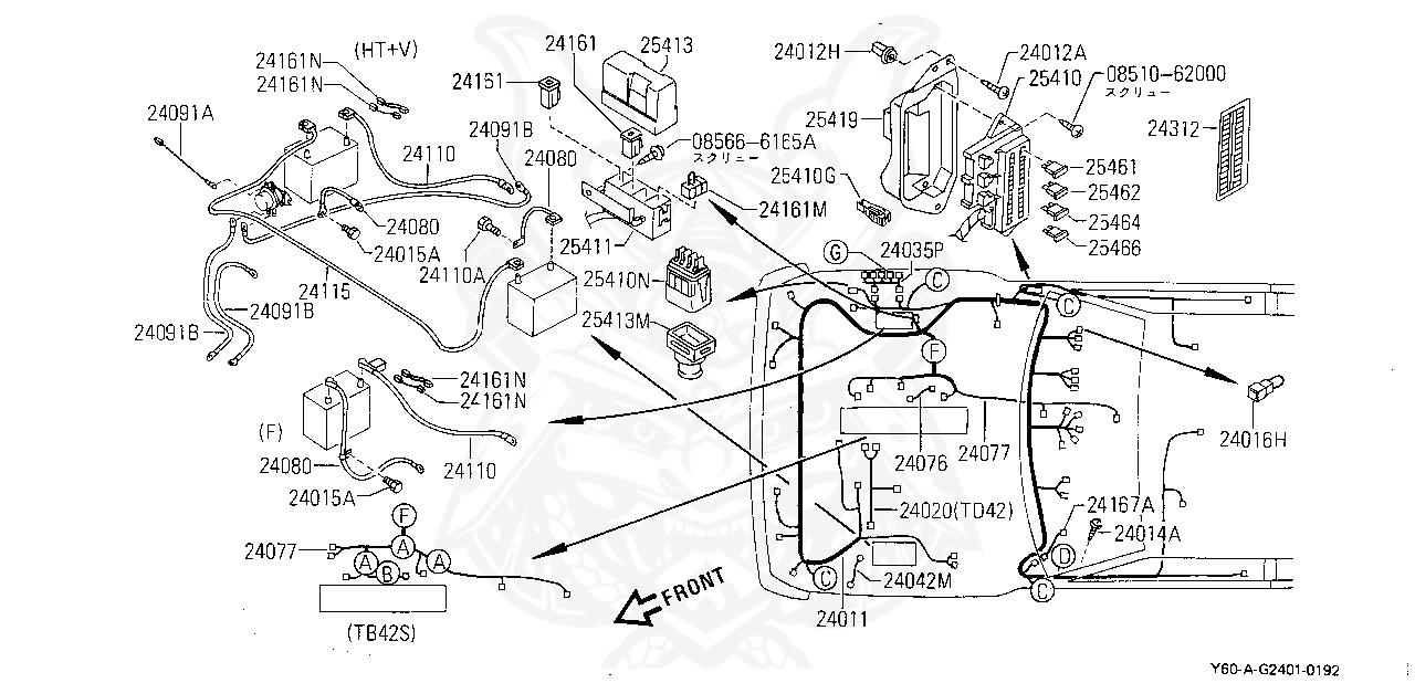 1993 Nissan Skyline Engine Wiring Diagram