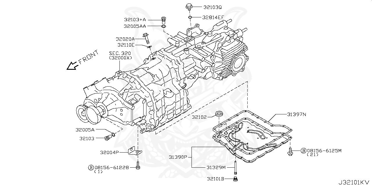 Nissan - Gasket, Drain Plug