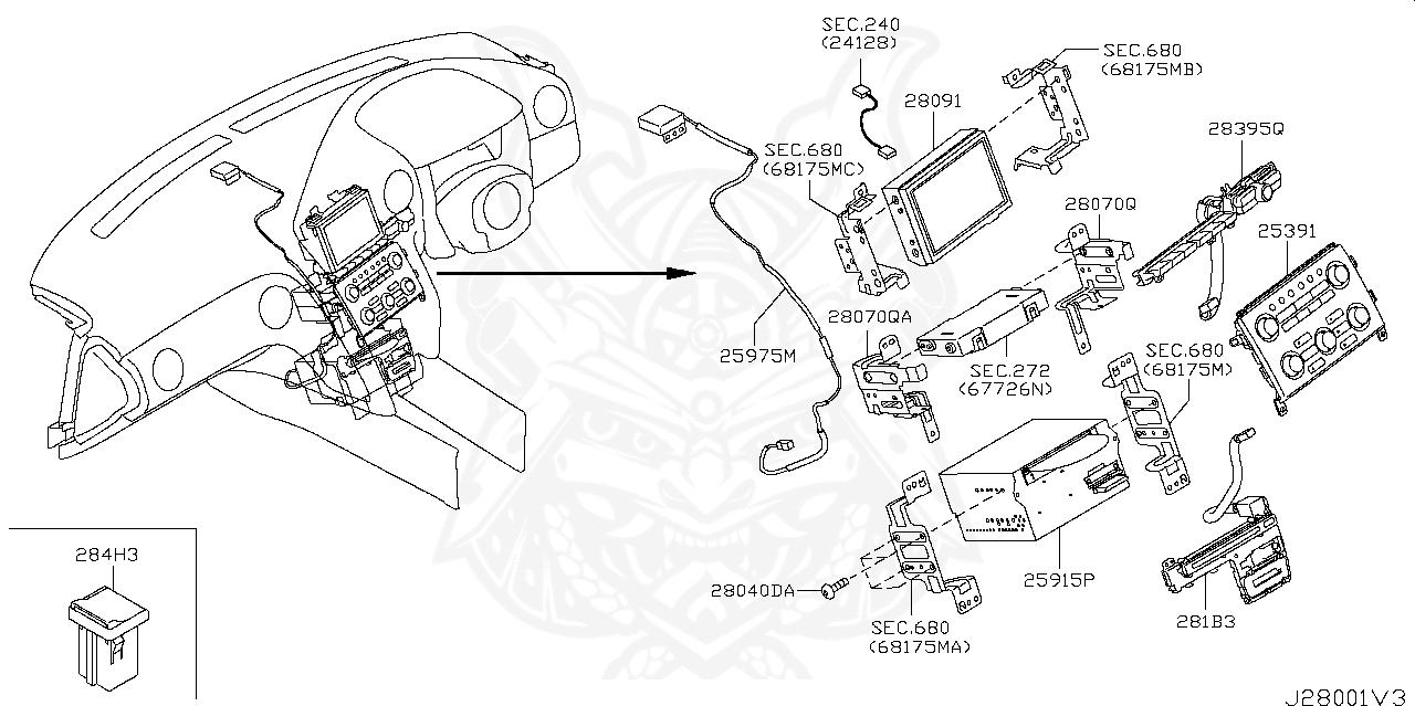 Nissan - Screw