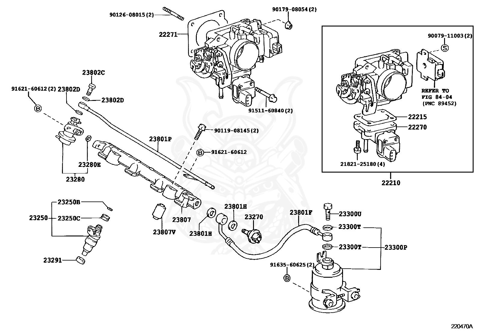 23209 11120 Toyota Injector Assy Fuel Nengun Performance