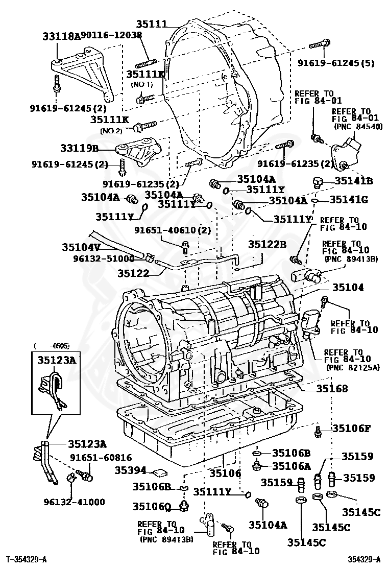 Land Cruiser 47l Engine Cylinder Crankshaft Camshaft Assembly Diagram