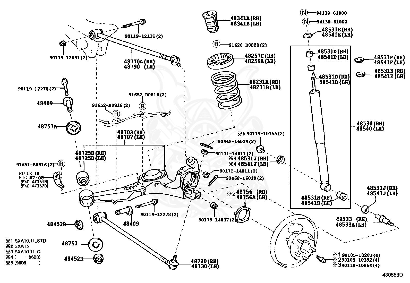 1999 Toyota Rav4 Shop Service Repair Manual Book Engine Drivetrain OEM