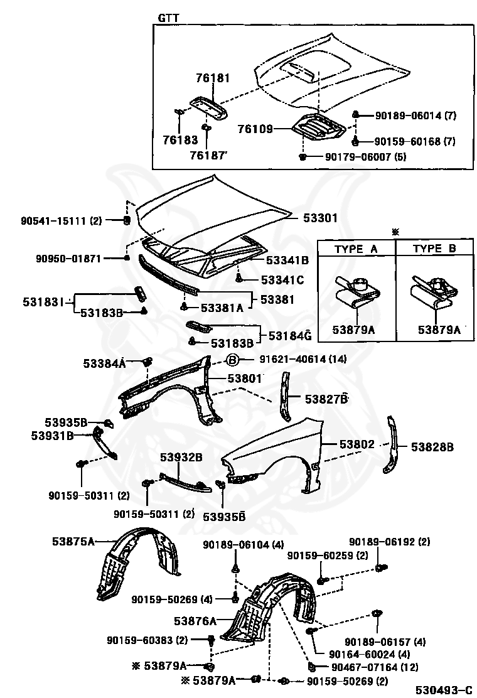 Right Rear Genuine Hyundai 89240-2D503 Seat Cushion Mat Assembly